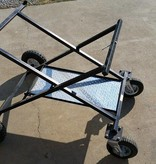 DynoCams DG-KS fold out Kart Stand (Roll-Around) (Diamond Plate Tray)