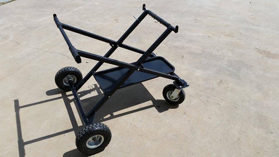 RLV RLV Roll-Around Kart Stand (Black Tray)
