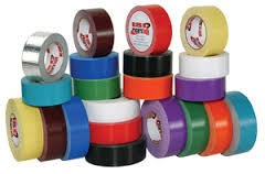 "ISC RED 2"" X 90' Racing Tape Std Duty"