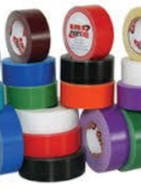 "ISC WHITE 2"" X 90' Racing Tape Std Duty"