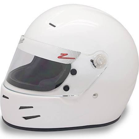 Zamp Zamp Racing FSA-2  White Large Racing Helmet