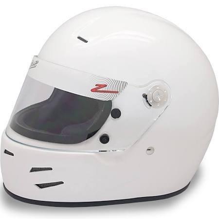Zamp Zamp Racing FSA-2 White Medium Racing Helmet