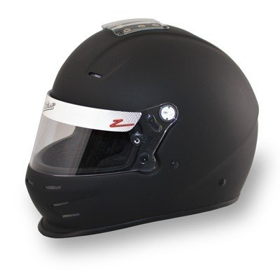 Zamp Zamp RZ-34Y Gloss Black Youth Racing Helmets 54cm