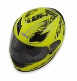 Zamp Zamp FS-8 Helmet (Graphic Green/Black, Small)