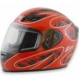 Zamp Zamp FS-8 Large  Red and Black Helmet