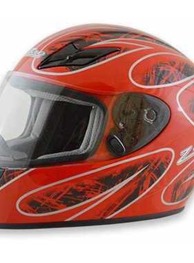 Zamp Zamp FS-8 Large  Red and Black Helmet