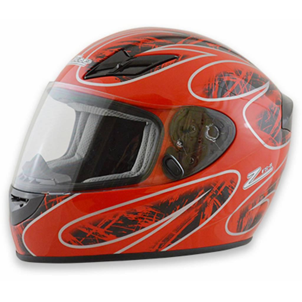 Zamp Zamp FS-8 Medium Red and Black Helmet