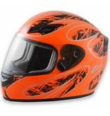 Zamp Zamp FS-8 Medium Orange and Black Helmet