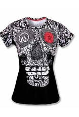 InknBurn INKnBURN Tech Tee (W)- Skull and Rose
