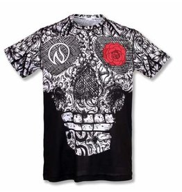 InknBurn INKnBURN Tech Tee (M)- Skull and Rose