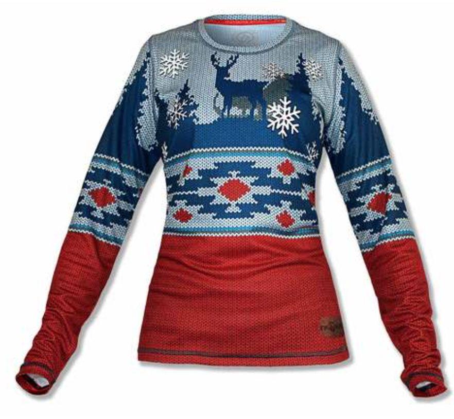 InknBurn INKnBURN LS Tech Shirt (W) - 2018 Holiday Sweater