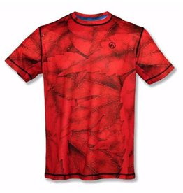 InknBurn INKnBURN Tech Tee (M) - Red Leaf
