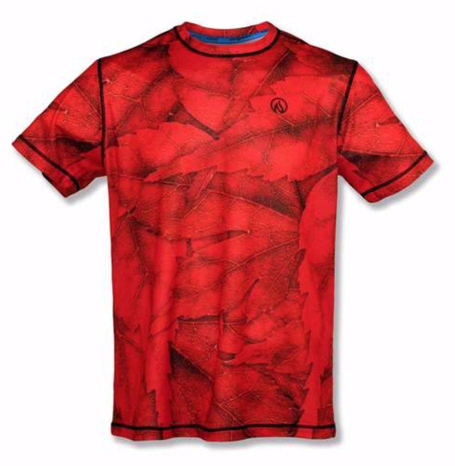 InknBurn INKnBURN Tech Tee (M) - Red Leaf