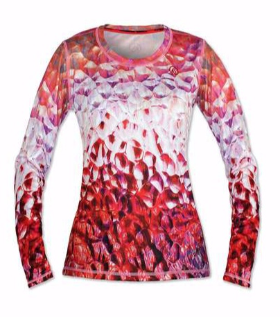 InknBurn INKnBURN LS Tech Shirt (W) - Glass