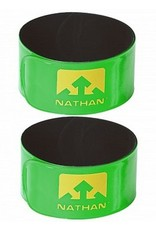 Nathan Sports NATHAN Reflex Snap Bands Lime Green