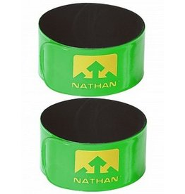 Nathan Sports NATHAN Reflex Snap Bands Lime Green