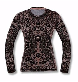 "InknBurn InB ""Black Lace LS Tech Tee (W)"" (Waitlist)"