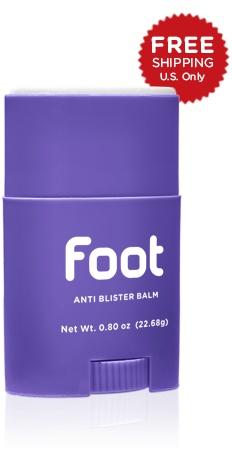 Body Glide Foot Glide Anti-Chafe Balm - Travel Size (0.8oz)