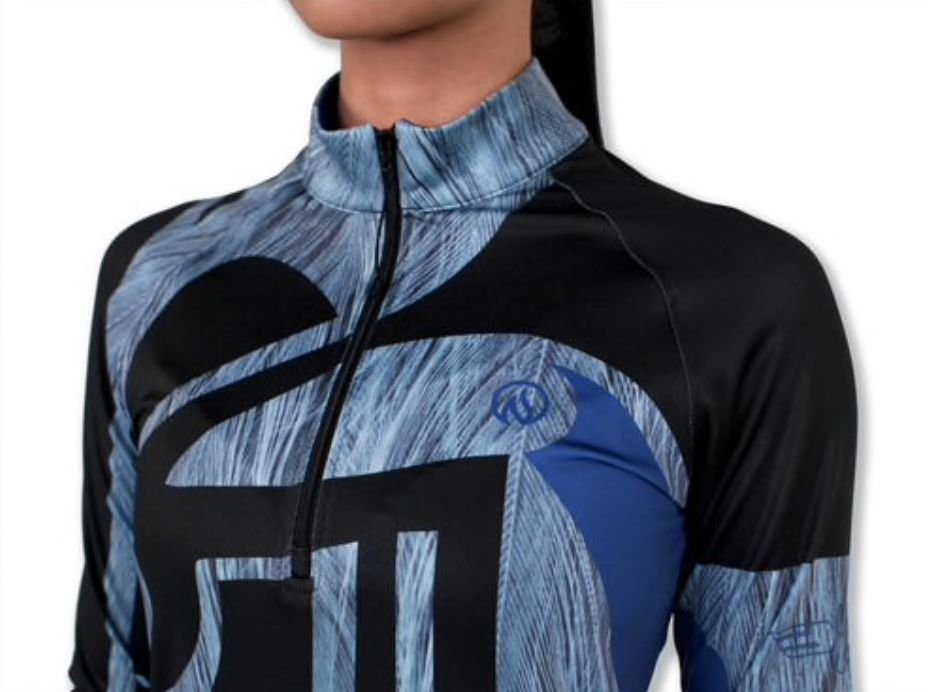 InknBurn INKnBURN 1/4 Zip Pullover (W) - Hayabusa