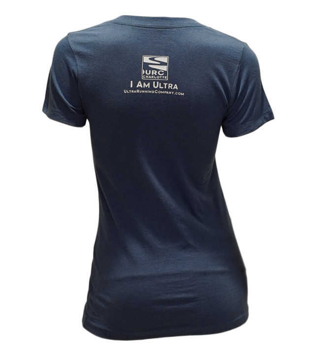 """Recover Brands Recover Limited Edition URC """"I Love Ultra Running"""" V-neck Tee (W)"""