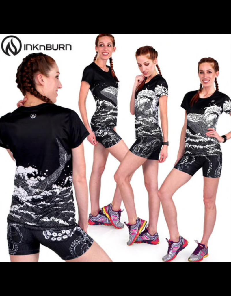 """InknBurn INKnBURN 4"""" Short (W) - Kraken"""