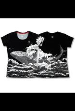 InknBurn INKnBURN Tech Tee (W) - Whale
