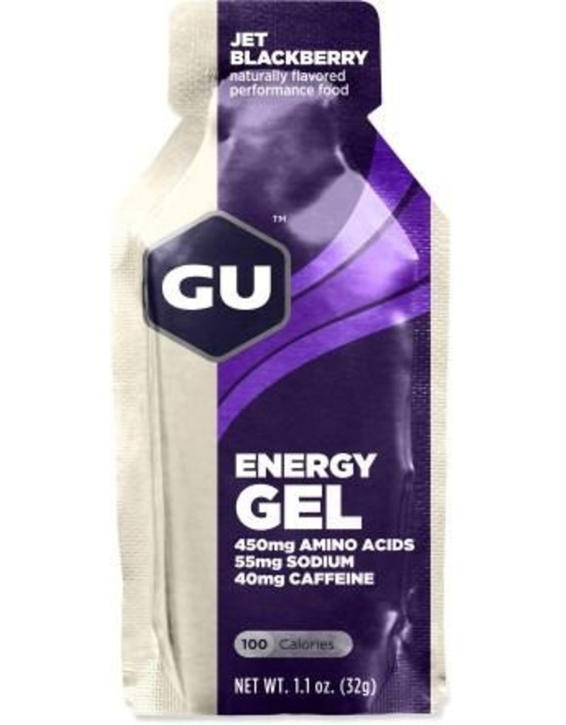 GU Energy Labs GU Energy Gel Jet Blackberry 1.1oz