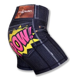 "InknBurn INKnBURN 4"" Short (W) - Epic Black Denim"