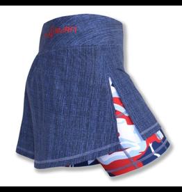 """InknBurn InB """"Liberty & Justice Sports Skirt"""" (Waitlist)"""