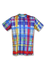InknBurn INKnBURN Tech Tee (M) - Rainbow Plaid