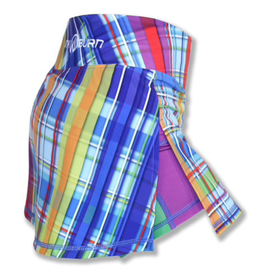InknBurn INKnBURN Skirt - Rainbow Plaid