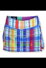 InknBurn INKnBURN Skirt - Rainbow Plaid