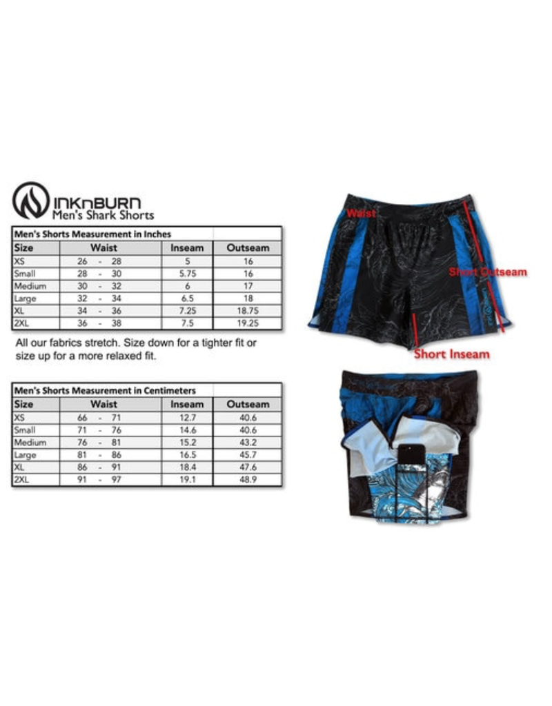 InknBurn INKnBURN Shorts (M) - 2019 Run Or Die