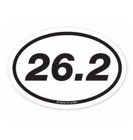 26.2 Sticker - Oval