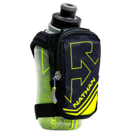 Nathan Sports NATHAN SpeedShot Plus Insulated Flask 12oz NS4858 Black