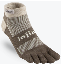 Injinji Footwear, Inc. Injinji Outdoor Original Weight Micro Nuwool Oatmeal (Size S)