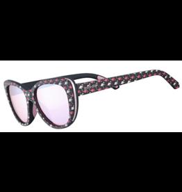 Goodr Goodr Polarized Running Sunglasses- Runway Gopher A Flamingo
