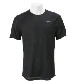 Saucony Saucony Hydralite Short Sleeve M Black (Size Large)