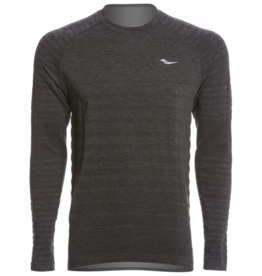 Saucony Saucony Dash Seamless Long Sleeve M Black (Size Small)