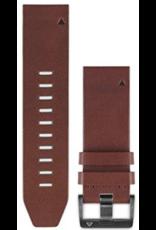 Garmin Garmin QuickFit Watch Band Brown Leather