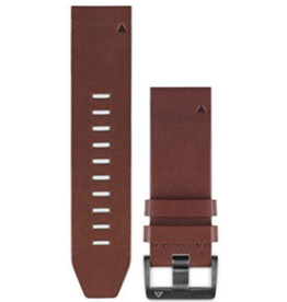 Garmin Garmin QuickFit Watch Band Brown Leather