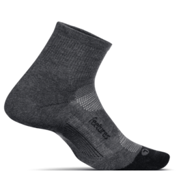 Feetures! Feetures! Elite Max Cushion Quarter Gray (Size M)
