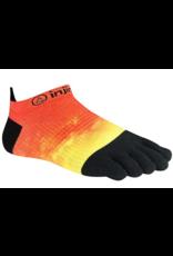 Injinji Footwear, Inc. Injinji Spectrum Run Lightweight No-Show - Coolmax XtraLife Orange Flash (Size S)