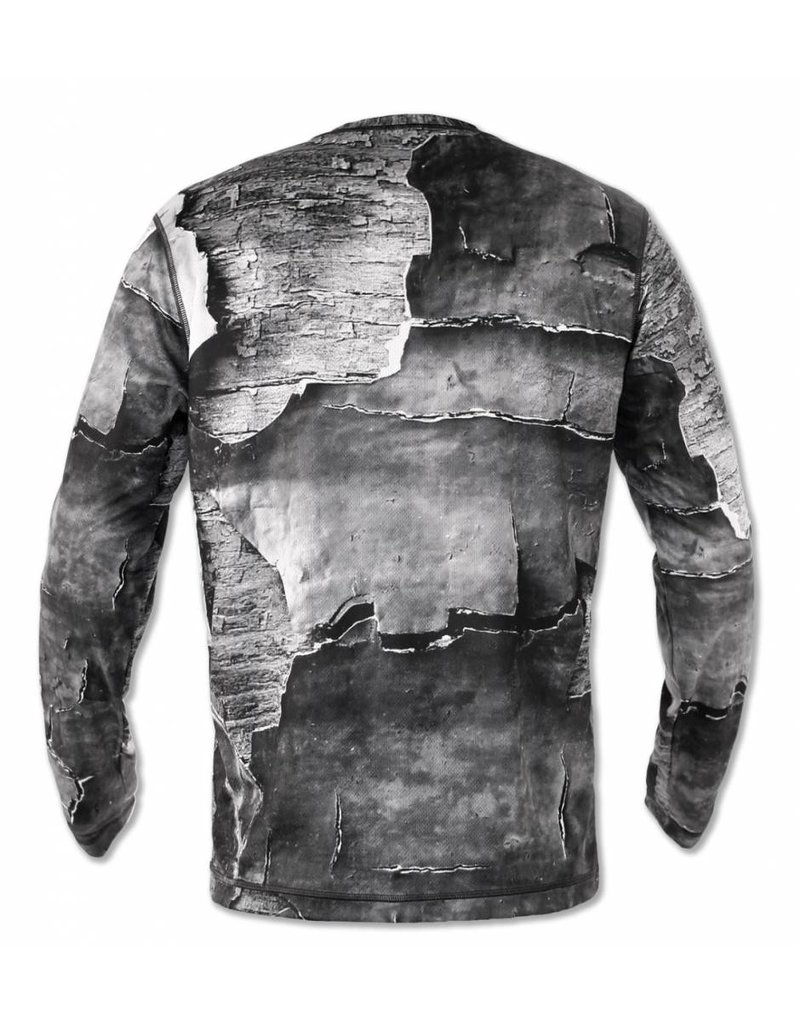 InknBurn INKnBURN LS Tech Shirt (M) - Peeling Paint Size Small