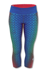 InknBurn INKnBURN Capris (W) -  Mermaid (Size 8)