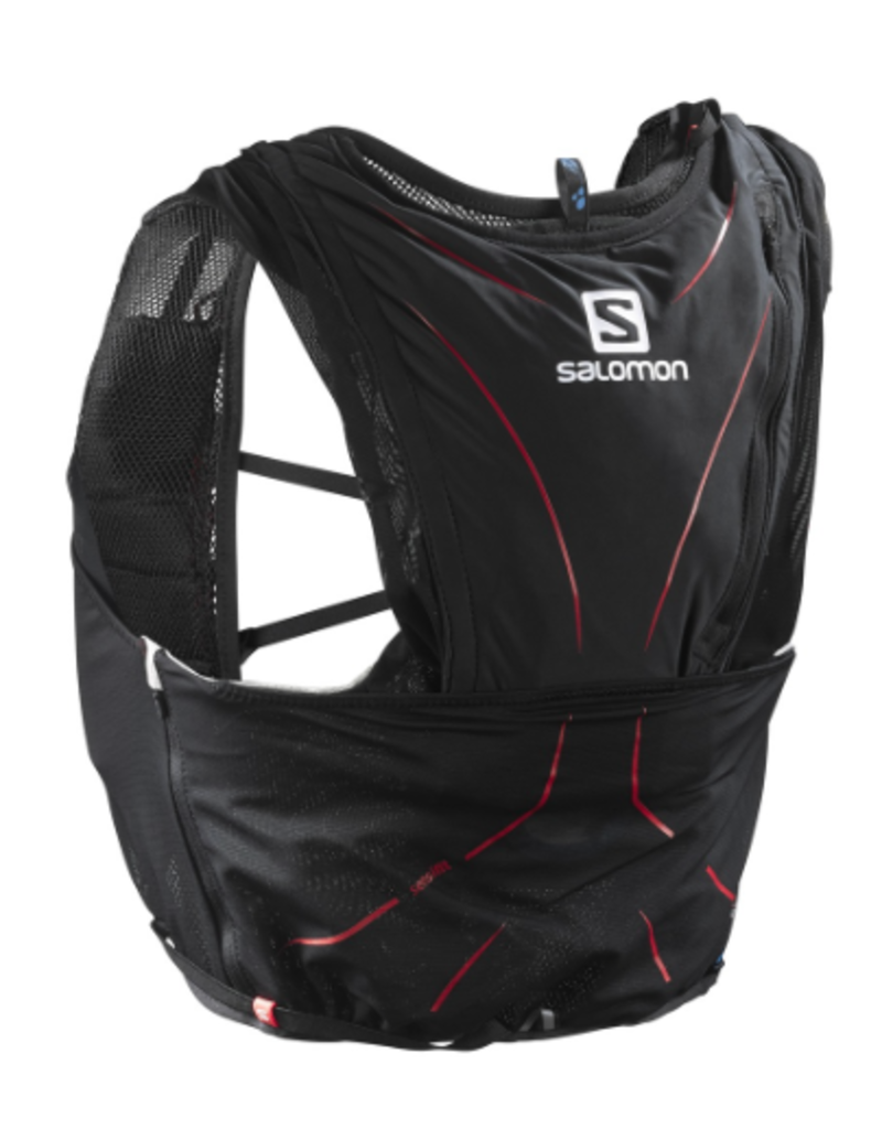 Salomon Salomon Bag Adv Skin 12 Set Black/Matador (Size 2XS)