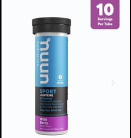 nuun nuun Sport+Caffeine Drink Tabs Wild Berry (Tube)