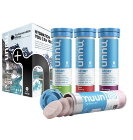 nuun nuun Sport Drink Tabs 4-Pack - Conservation Alliance (Tubes)