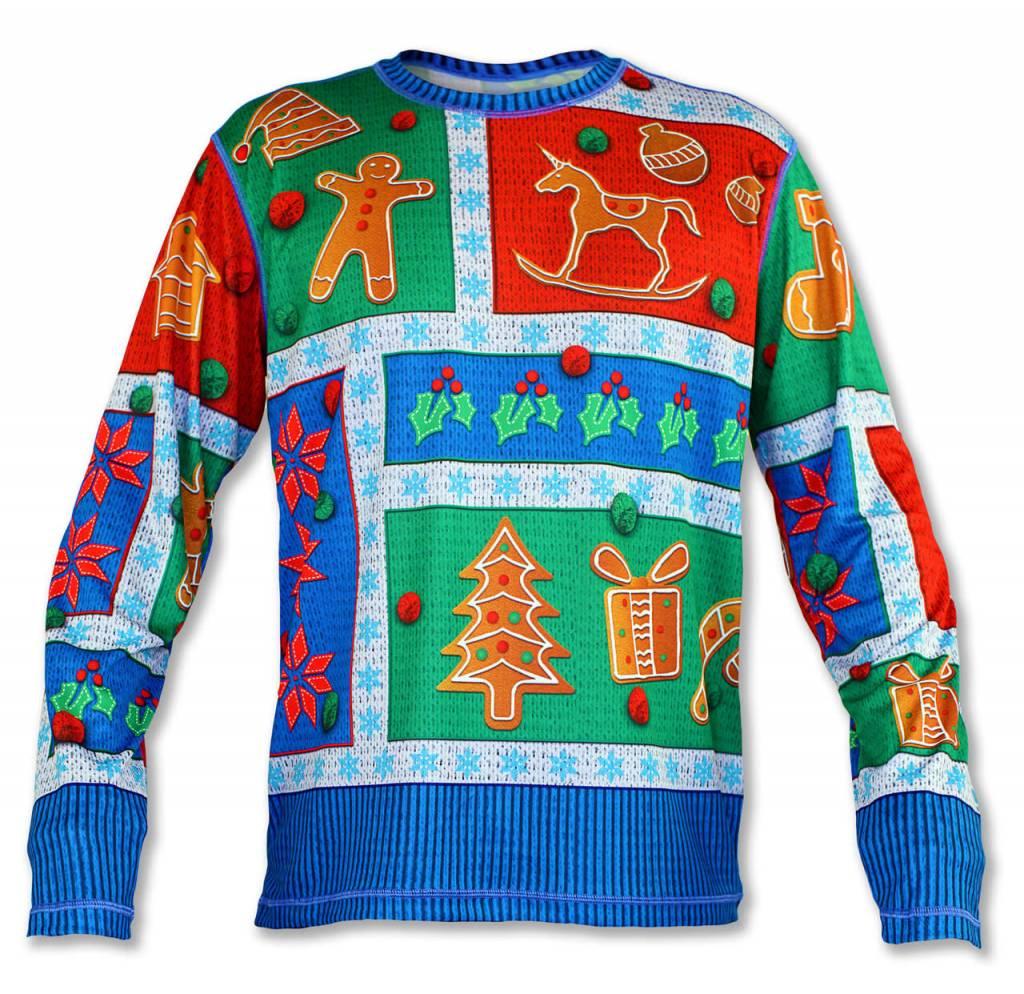 InknBurn INKnBURN LS Tech Shirt (M) - 2017 Holiday Sweater