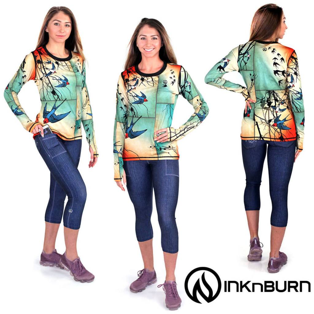 InknBurn INKnBURN Capris - 1124 Two Pocket